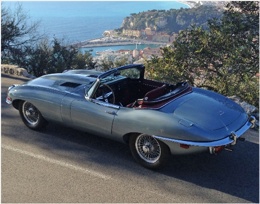 E-type Jaguar